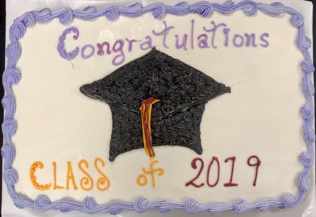 Congratulations Class of 2019 Cake